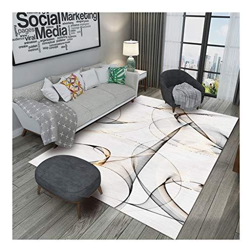 Haodamai tapijt voor salontafel, woonkamer, sober, velours, kristal, deurmat voor de kamer, modern, 80x160cm B