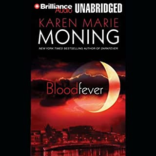 Bloodfever audiobook cover art