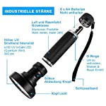 UV Light Torch Black Light 100 LED,Ultraviolet Lamp Flashlight with UV Protection Glasses,395nm Led UV Flashlight,Blacklight Torch Detector for Pet Urine Stains of Carpet/Floor,Resin,Camping,Large 12