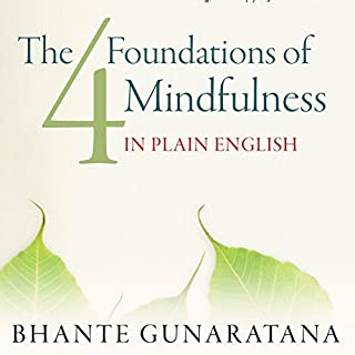 The Four Foundations of Mindfulness in Plain English cover art