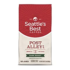 Seattle's Best Coffee has a new look but the same premium beans, specially roasted for a smooth taste Signature Blend No. 5 is now Post Alley Blend Post Alley Blend is our most intense dark roast coffee with smoky flavor Our recommendation for a grea...