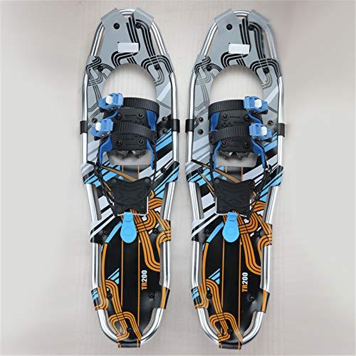 SHDT Senderismo Raquetas De Nieve para La Juventud, Zapatos De Nieve Ligeros para Montañera, Snowboard, Todo Terreno Zapatos De Esquí Alpino De Snowfield