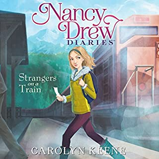 Strangers on a Train     Nancy Drew Diaries, Book 2              Written by:                                                                                                                                 Carolyn Keene                               Narrated by:                                                                                                                                 Jorjeana Marie                      Length: 3 hrs and 19 mins     Not rated yet     Overall 0.0