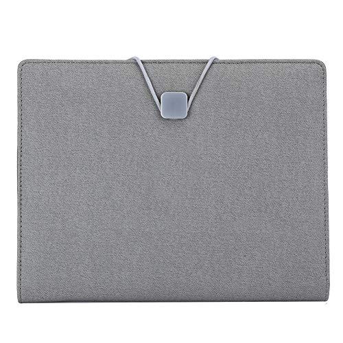 Soapow Multifuncional portátil A5 retroiluminación teléfono inalámbrico carga oficina tapa dura Bloc de notas