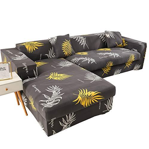 NOBCE Funda de sofá elástica para Sala de Estar Funda de sofá elástica Antideslizante Funda de sofá Funda de sofá Funda Protectora Universal 235-300CM