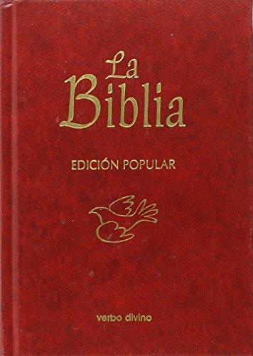 La Biblia - Edición popular (Cartoné): (cubierta cartoné) (La Biblia (Texto 'La Casa de la Biblia'))