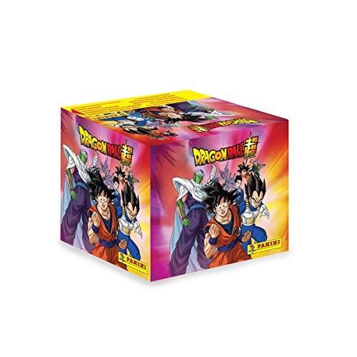 Dragon Ball Super. Caja de estampas 50 sobres. 250 estampas