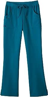 jockey women's relaxed fit comfort scrub pants
