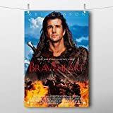 QAZEDC Dekorative Malerei Braveheart Movie Poster Vintage