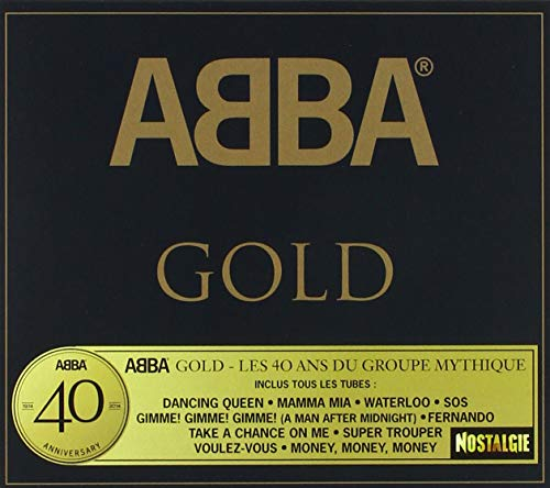 ABBA-ABBA 40 GOLD ANNIVERSARY