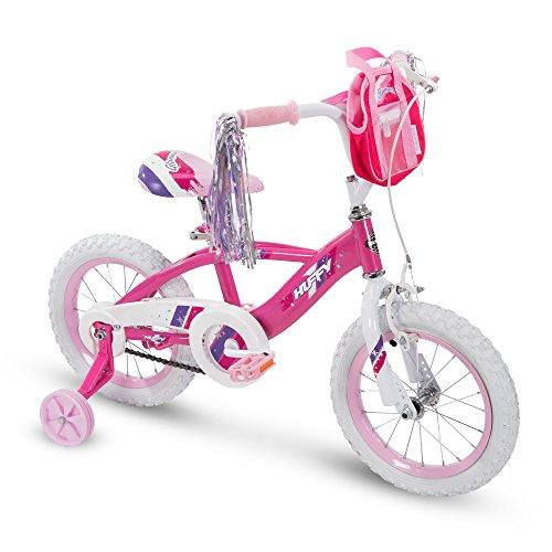 Huffy 14' Glimmer Girls Bike, Pink