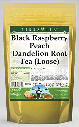 Black Raspberry Limited Special Price Peach Dandelion Root Tea Bombing new work Loose 4 oz ZIN: 563