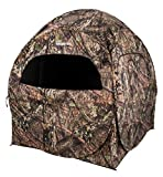 Ameristep Doghouse Run & Gun Hunting Blind | Lightweight 2 Person Ground Blind in Mossy Oak Break-Up Country, One Size