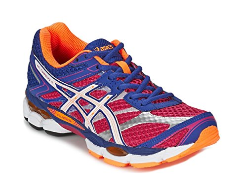 Asics Gel-Cumulus 16 Women's Trainers, T492N 2001, Hot Pink/Deep Blue, UK 9.5/EU 44