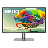 BenQ PD2720U DesignVue 27 inch 4K HDR IPS Monitor | Thunderbolt 3 for fast Connectivty |AQCOLOR Technology for Accurate Reproduction for Professionals (Renewed)