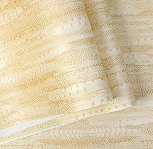 TFJJSQA Sonder/Schlicht Vliestapete Wohnzimmer Schlafzimmer Tapete grau blau (Color : Cream Color, Size : 0.53 * 10m)