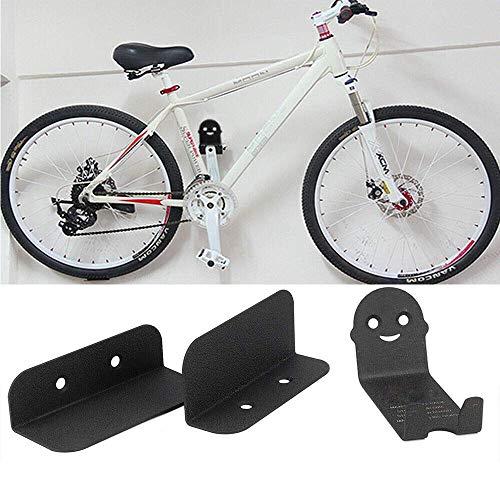 YYTFGR Wandhalterung für Mountainbike, Stahl-Halterung, Fahrradpedal, Reifenaufbewahrung