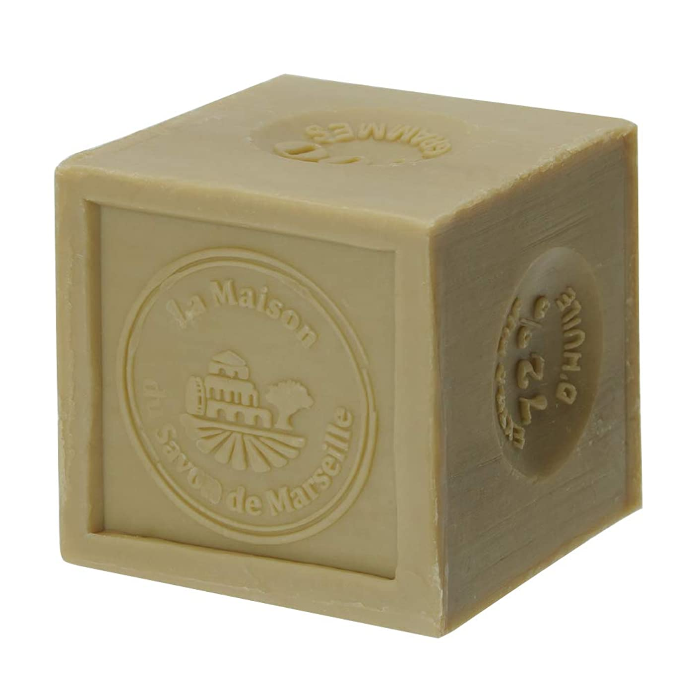 弱める布移住するノルコーポレーション マルセイユ石鹸 オリーブ UPSM認証マーク付き 300g MLL-3-1