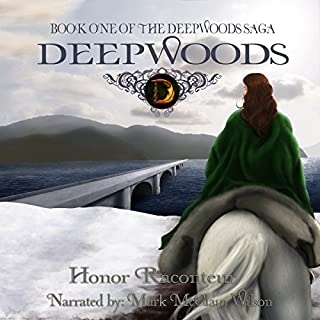 Deepwoods audiobook cover art