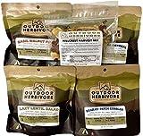 Outdoor Herbivore Backpacking Food Seasonal Combo (Vegan)