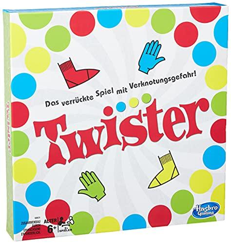 Hasbro Gaming Twister Spiel, Partyspiel für...