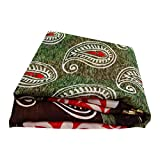 PEEGLI Indisch Vintage Saree Mehrfarbig Schleier Gebraucht
