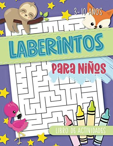 Laberintos para niños: libro de actividades: 3-10 años