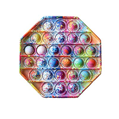Ousyaah Sensorial Fidget Juguete, Push Pop Bubble Sensory Toy, Camuflaje Pop It Figit Toy Autismo Necesidades Especiales Aliviador del Antiestrés del Juguetes Juguetes educativos (A) de