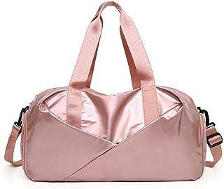 Fanspack Travel Bag Casual Large Capacity Yoga Crossbody Bag Roll Shoulder Handbag Purse