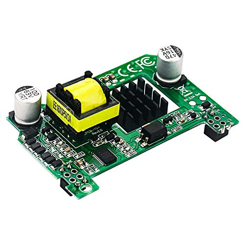 cherrypop para Raspberry Pi PoE HAT 5V2A Active Power over Ethernet HAT con disipador de calor para Raspberry Pi 4 Modelo B/3B+
