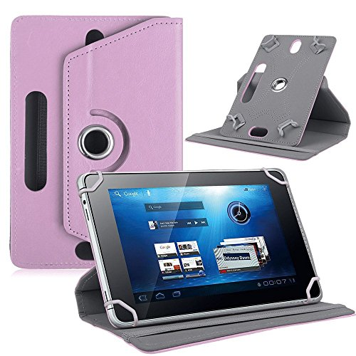 AKNICI Funda Universal Tablet 7 Pulgadas 360 Grados Rotación para Dragon Touch/Haehne/ALLDOCUBE/Yuntab/TXVSO/JEJA/LAMZIEN/JINYJIA/HMAI/Pritom/Docooler/Alcatel/TECLAST/Navitel/ASUS...