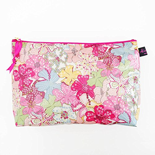 Alice Caroline Liberty Fabric Wash Bag in Mauvey