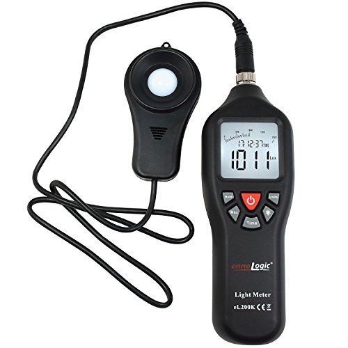 Light Meter ennoLogic eL200K – Digital Illuminance Lux Meter...