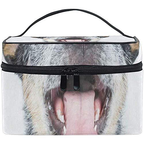 Cosmétique Sac Happy Puppy Dog Femmes Maquillage Organisateur Filles Trousse De Toilette Boîte Paresseux Zip Sac