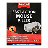 Rentokil 2 X Fast Action Mouse Killer Twin pack, Multi-Color