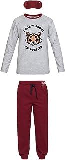 Biger Conjunto de Pijama para niño en algodón orgánico e Antifaz
