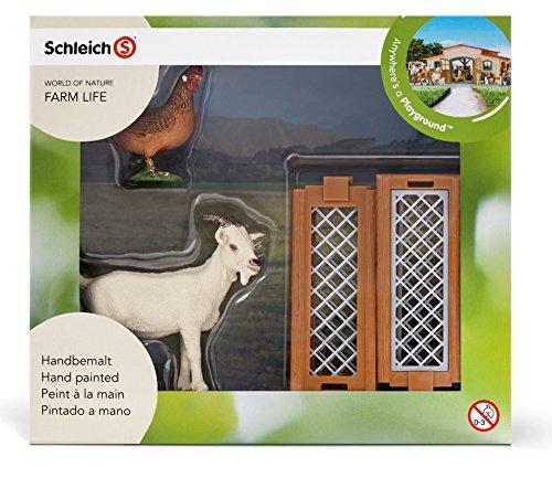 Schleich 21029 - Mini-Playset Bauernhoftiere