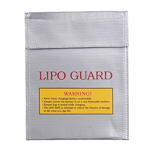 LiPo Batterie Sack Schutz tasche f/ür RC Batterien Suncentech Batterie Tasche Feuerfest Aufbewahren Beutel f/ür DJI SPARK 125 x 64 x 50 mm, 2er-Pack