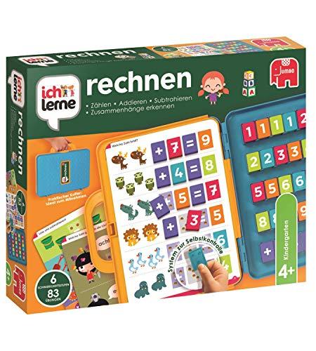 Jumbo Spiele Ich lerne rechnen - Lernspiel für Kinder ab 4 Jahren für 2 bis 4 Spieler