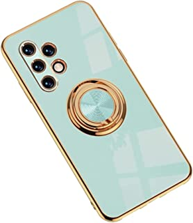 Hicaseer Case for Galaxy A32 5G,Ultra-Thin Ring Shockproof Flexible TPU Phone Case with Magnetic Car Mount Resist Durable ...