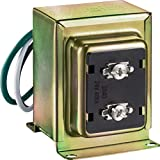 Newhouse Hardware 40TR 24-Volt 40vA Wired Door Bell Transformer for Powering Multiple Smart Doorbells and Thermostats, Gold