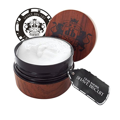 Dear Barber Shave Biscuit, Lubricates And Protects The Skin 100ml