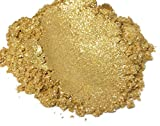 BLACK DIAMOND PIGMENTS 42G / 1.5Oz「ダイヤモンドゴールド」マイカパウダー顔料(エポキシ 塗料 色 アート)