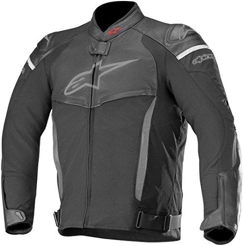 Alpinestars Motorradjacken Sp X Jacket Black Black, Schwarz/Schwarz, 52