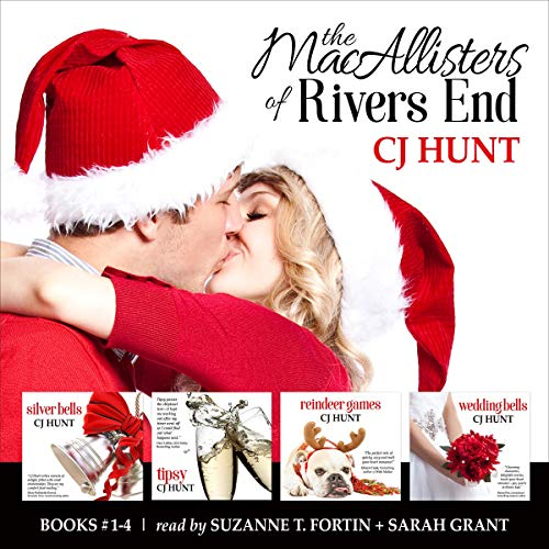 The MacAllisters of Rivers End Boxed Set (Books 1-4): including Silver Bells + Tipsy + Reindeer Games + Wedding Bells audiobook cover art