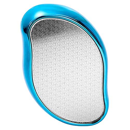 LAOYE 2 en 1 Nano eliminador de durezas, lima seca y húmeda, lima para eliminar callos para el cuidado de los pies, lima de uñas de cristal, exfoliante para pies y manos