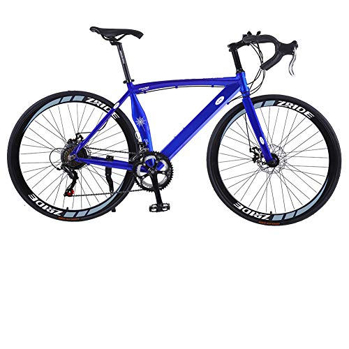 U`King Road Bikes 700c Road Bicycles Lightweight 6061 Aluminum Frame Cycling Road Bikes for Men with BB8 Alloy Disc Brakes