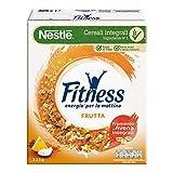Fitness Fiocchi di Frumento con Frutta Uvetta Ananas Papaya Cocco e Mela, 325g...