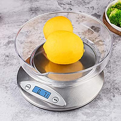 Amazon - 30% Off on Digital Kitchen Scale with Removable Bowl, Multifunction Electronic
