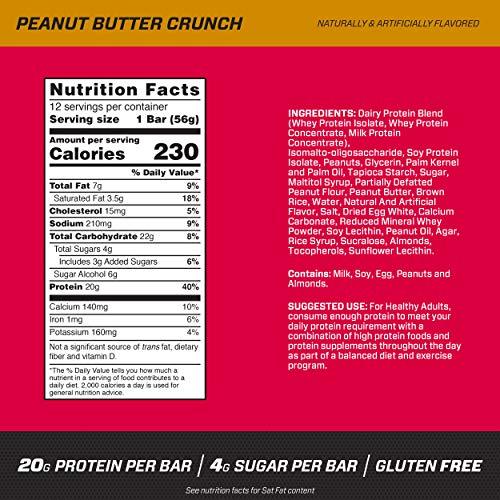 BSN『プロテインクリスプピーナッツバタークランチ』